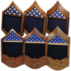 Click this Image to visit the Air Force Stripe Shadow Box category.