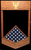 Petty Officer 1st Class Shadow Box Navy Shadow Box (rank)
