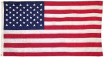 US Nylon Flag 5x9 Army Stripe Shadow Box