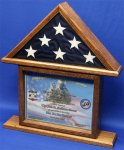 Certificate / Shadowbox Flag Case Flag Cases