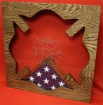 Maltese Cross Shadow Box Marine Shadow Box