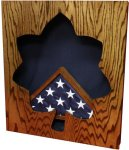 Major Shadow Box Navy Shadow Box