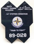 B-2 Nose Landing Gear Door Plaque Plaques