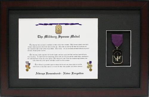 Military Child Parent Spouse Medal